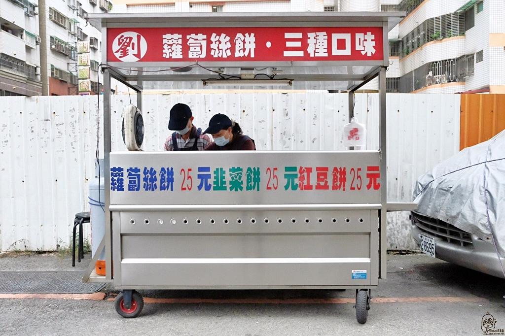 劉記蘿蔔絲餅:在地20年,北屯綏遠路文心國小旁的平凡美食 @飛天璇的口袋