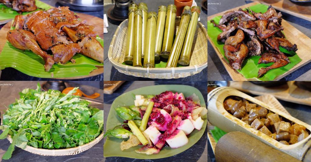 巴奇克竹坊:在地人帶路品嚐道地的原住民無菜單料理,令人回味無窮的野菜鍋,採取預約制一個人頭$350元 @飛天璇的口袋