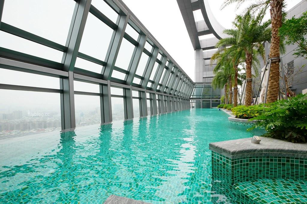 台北新板希爾頓酒店.Hilton Taipei Sinban:台灣的金沙酒店~無邊際游泳池,每間房間都有景觀落地窗 @飛天璇的口袋