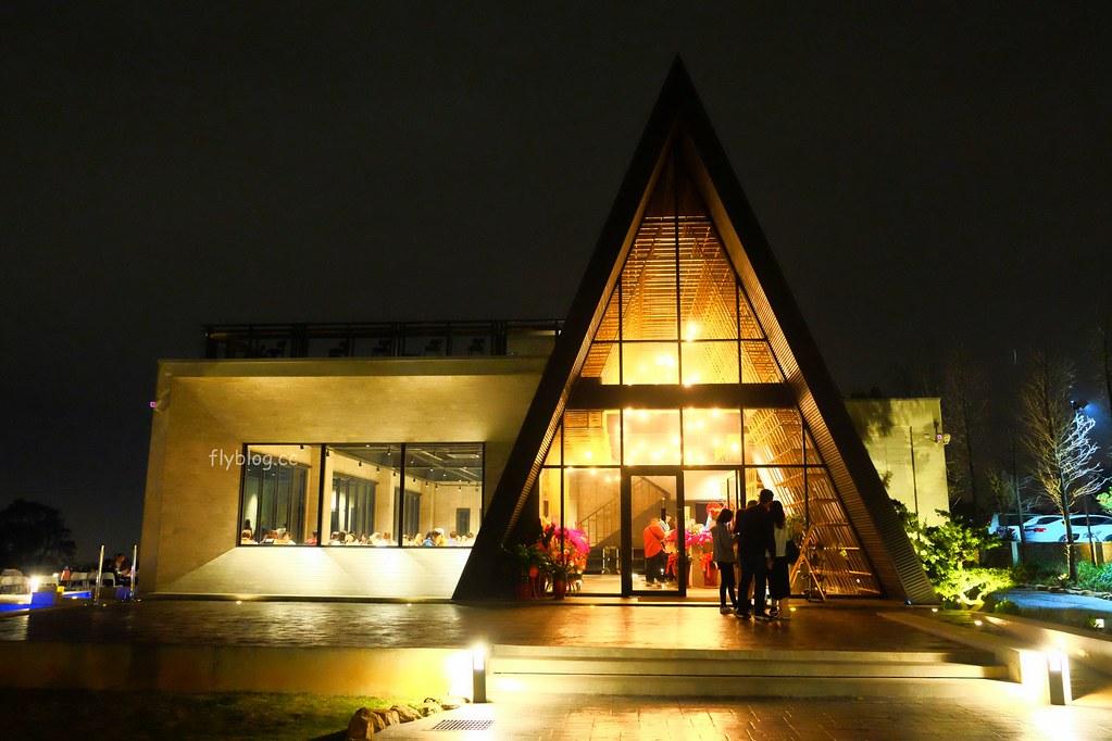 黑森林景觀餐廳:沙鹿黑森林夜景餐廳,玻璃教堂結合清水模建築,鄰近大肚山都會公園 @飛天璇的口袋