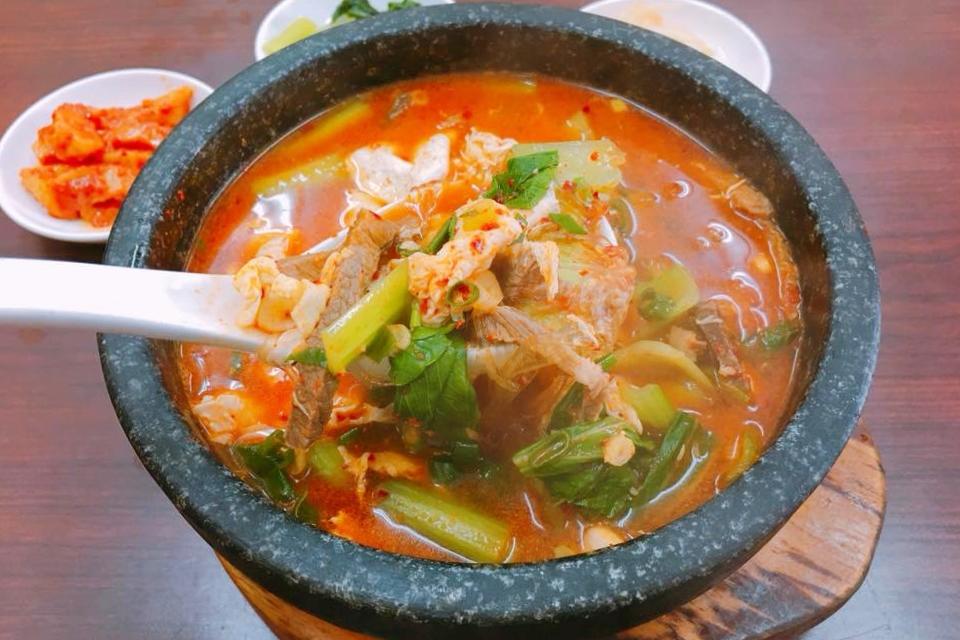 韓石館:北平路超人氣韓式餐廳,韓國人開的韓國餐廳 @飛天璇的口袋