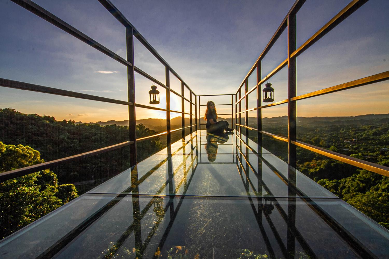 【台南東山】174 Cafe 翼騎士驛站:超美透明玻璃天空步道,欣賞360度視野絕佳景觀 @飛天璇的口袋