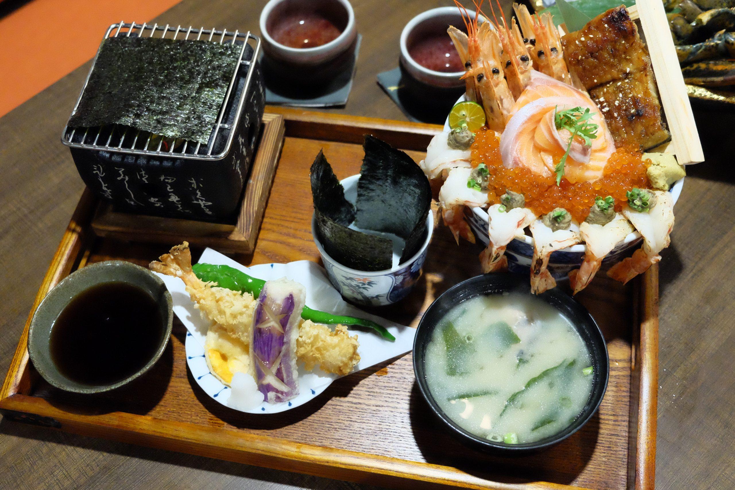 永樂饌:隱藏版相撲丼飯888元買一送一,新開幕日式概念海鮮料理 @飛天璇的口袋