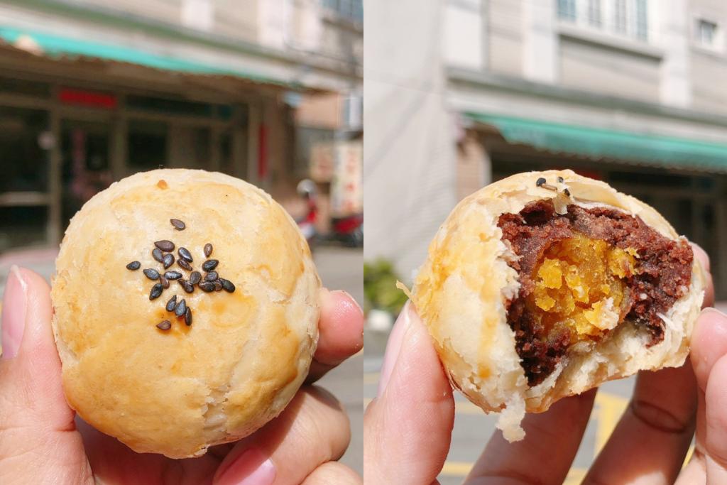 上美蛋黃酥:沙鹿區鹿寮的懷舊餅乾,平價又古早味的蛋黃酥 @飛天璇的口袋