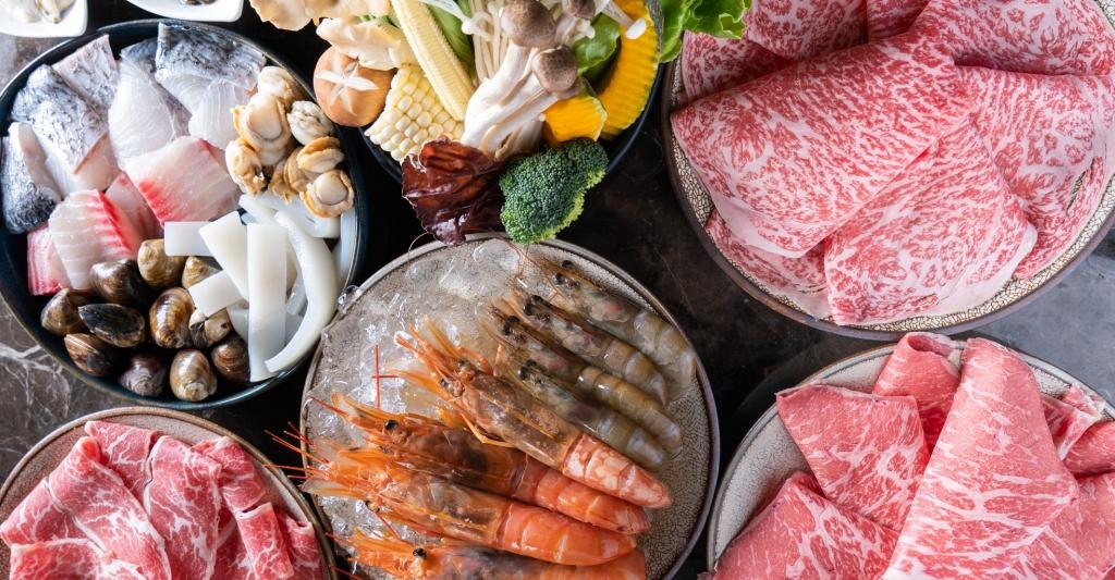 Beef King:日本頂級A5和牛鍋物放題,挑戰台中最貴的和牛吃到飽 @飛天璇的口袋