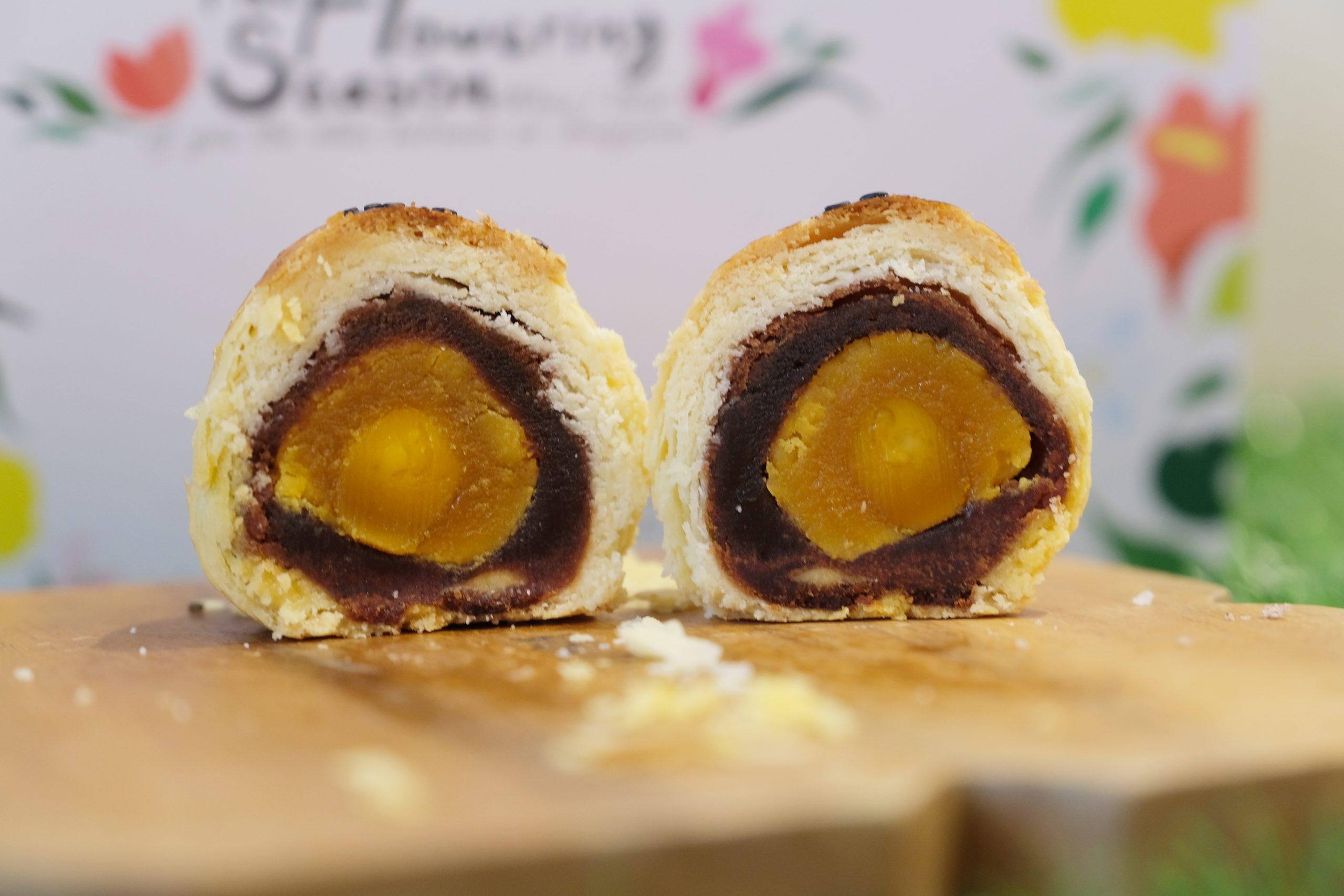 易達蛋黃酥:網路上資料少之又少,低調又美味的蛋黃酥餅店 @飛天璇的口袋