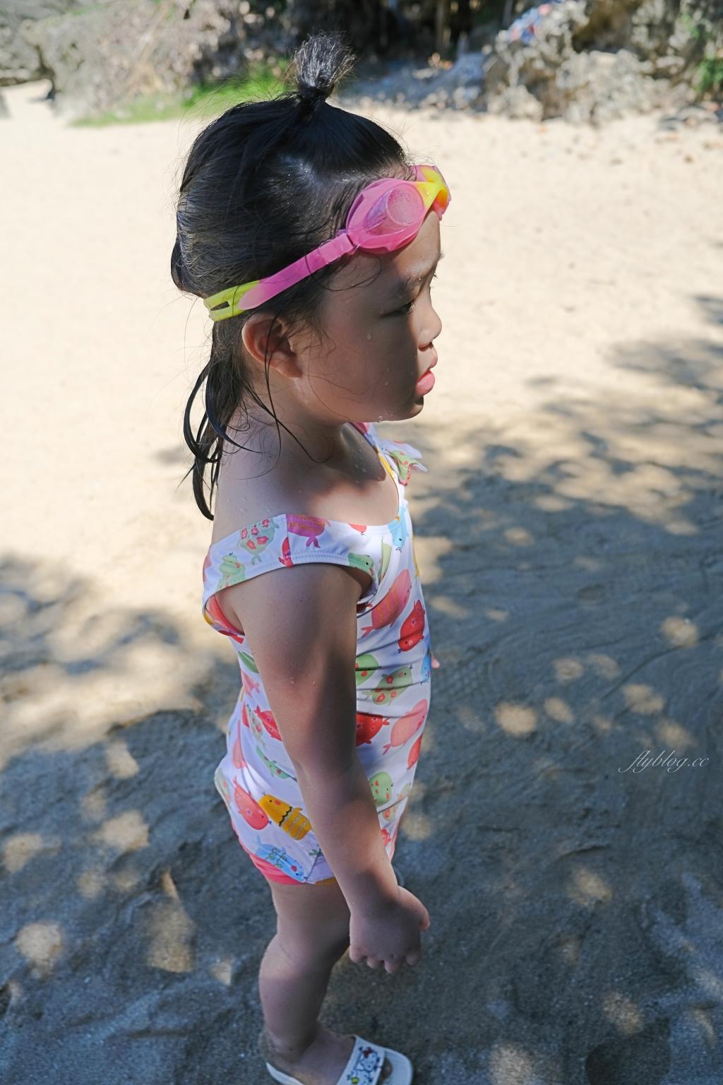 【屏東恆春】墾丁小灣沙灘:離墾丁大街最近的沙灘,可以參加香蕉船等戲水活動 @飛天璇的口袋