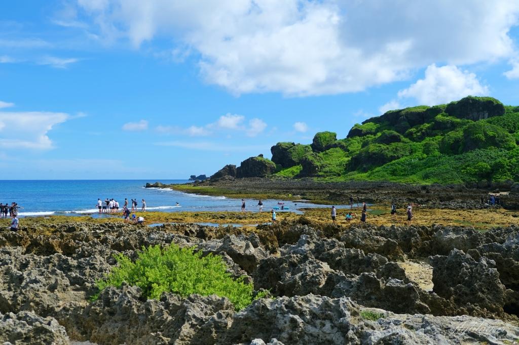 【屏東恆春】小峇里島岩沙灘:墾丁天然珊瑚礁海域,浮潛愛好者的聖地 @飛天璇的口袋