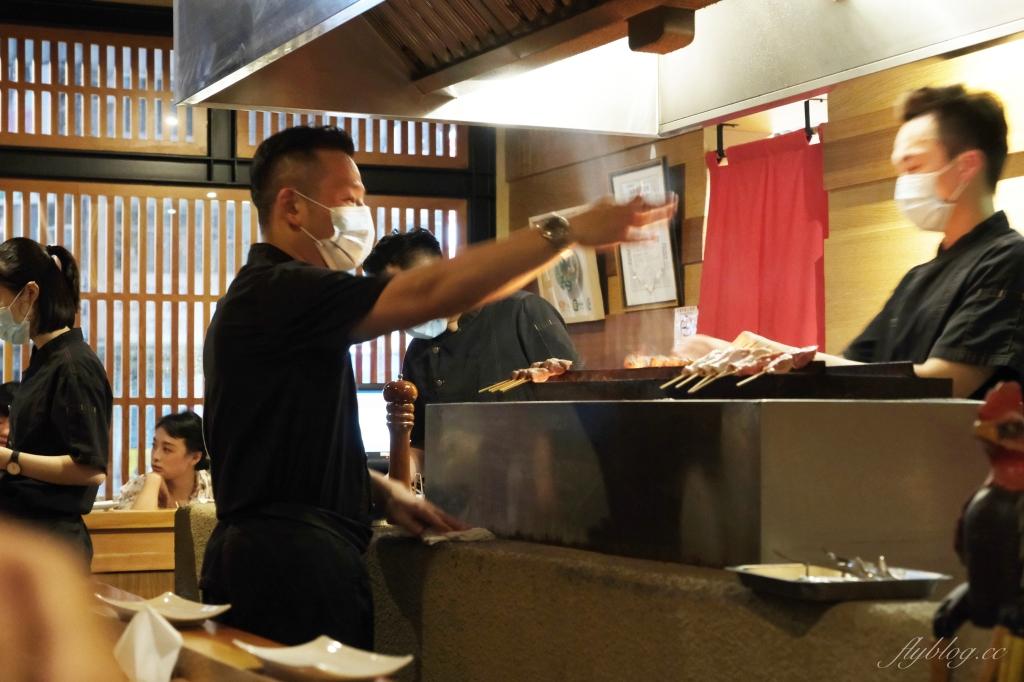 鳥苑地雞燒:Google評價4.4顆星,台中職人串燒專賣店,可以品嚐多種雞肉料理 @飛天璇的口袋