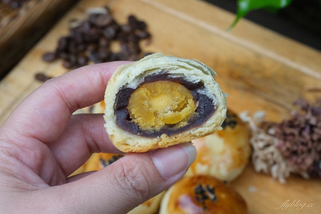 【台中北區】拉波兒蛋黃酥:老闆師承野上智寬,真材實料的美味蛋黃酥 @飛天璇的口袋