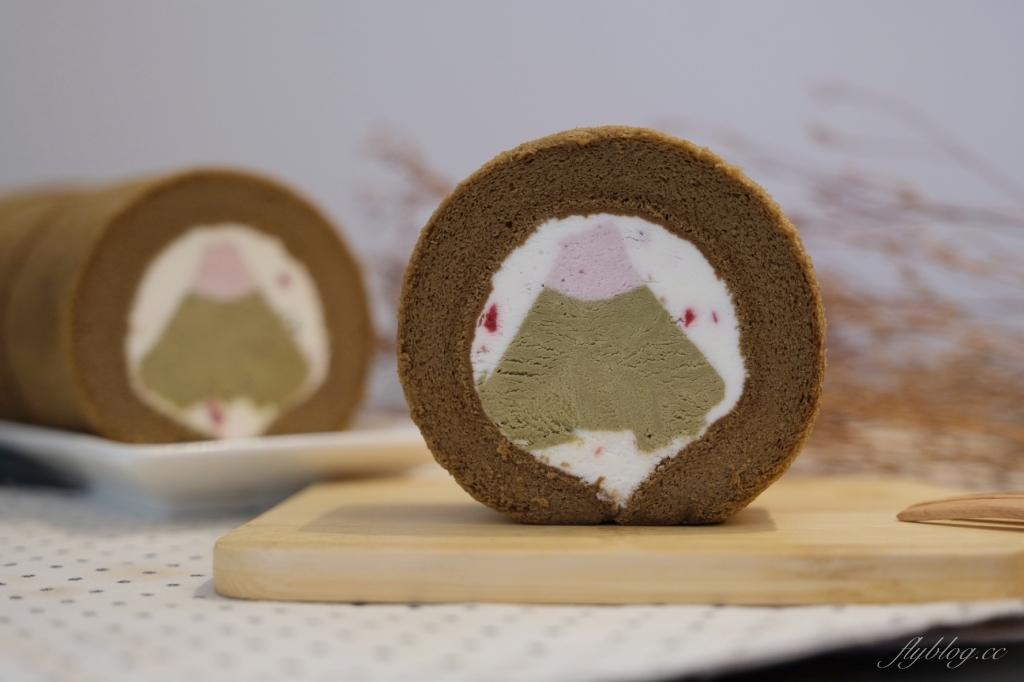 金帛手製:在櫻花季的阿里山沏一壺茶捲 x 抹莓富士山 x 紅玉莓果巧克力 @飛天璇的口袋