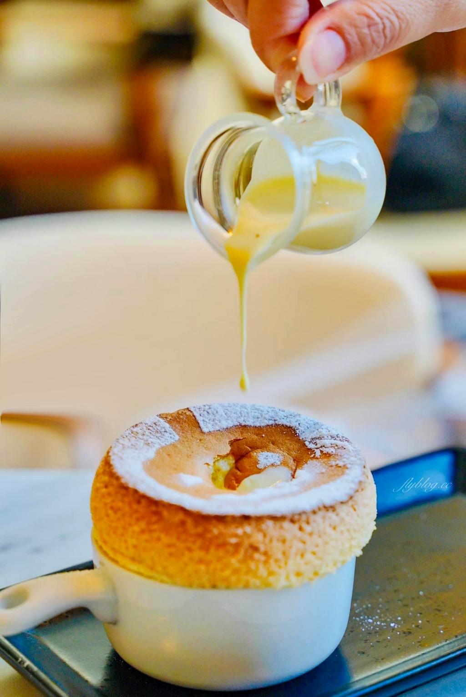 【台中西區】貝爵妮法式點心坊:精明商圈優質甜點店,舒芙蕾和厚鬆餅都好吃 @飛天璇的口袋