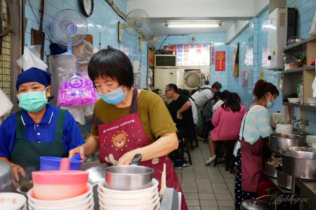 【台中豐原】永芳亭扁食肉粽:廟東夜市80年老店,肉粽、扁食、四神湯必點 @飛天璇的口袋