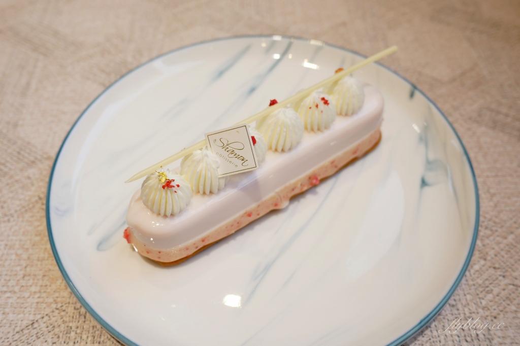 【台中北區】SHAMON法式甜點:太原綠園道旁的甜點店,環境好甜點有水準 @飛天璇的口袋