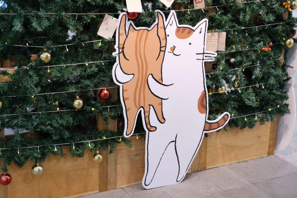 台中車站:鐵鹿大街12/6開幕!聖誕樹裝罝上場 X 鐵道躲貓貓 X 開幕各項優惠 @飛天璇的口袋