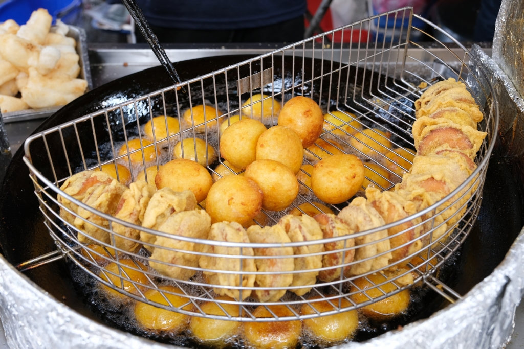 林家白糖粿:台南國華街60年老店,蕃薯椪和芋頭餅也好吃 @飛天璇的口袋