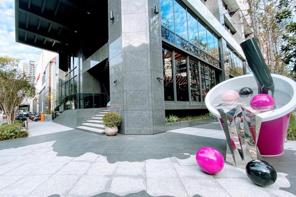 台中MOXY豐邑酒店:台中最潮的設計飯店,捷運豐樂公園站步行3分鐘 @飛天璇的口袋