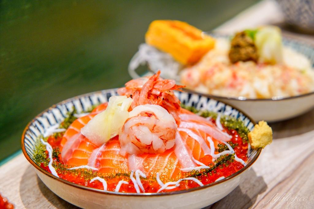 漁米島:IG超人氣日式文青海鮮丼專賣店,必點手毬壽司和許願達摩 @飛天璇的口袋