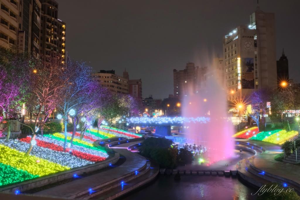 【台中中區】2020柳川藍帶水岸:台中好YA誕~2020聖誕節柳川藍帶水岸點燈囉! @飛天璇的口袋
