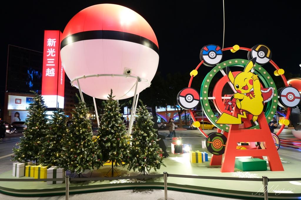 【台中西屯】寶可夢遊樂園:6公尺高寶可夢現身台中!2020台中新光三越百貨聖誕節主題裝置 @飛天璇的口袋