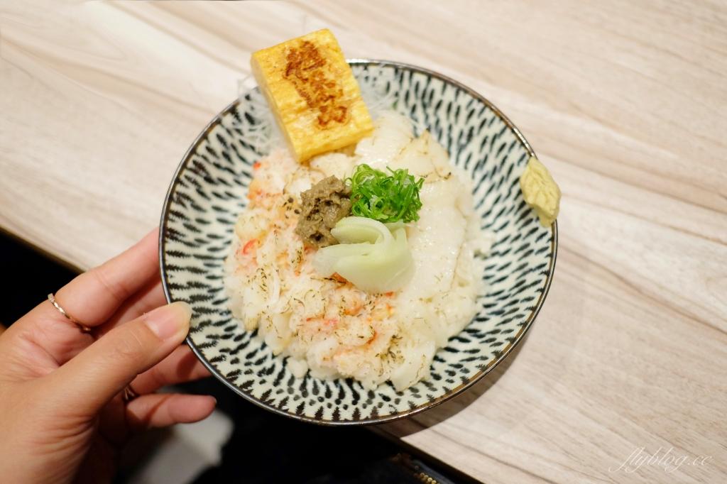 【台北大同】漁米島:IG超人氣日式文青海鮮丼專賣店,必點手毬壽司和許願達摩 @飛天璇的口袋