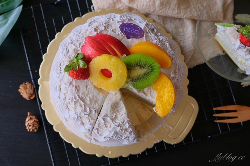 【台中豐原】寶才芋泥蛋糕:純芋頭蛋糕創史店,生日蛋糕滿滿的芋頭內餡 @飛天璇的口袋