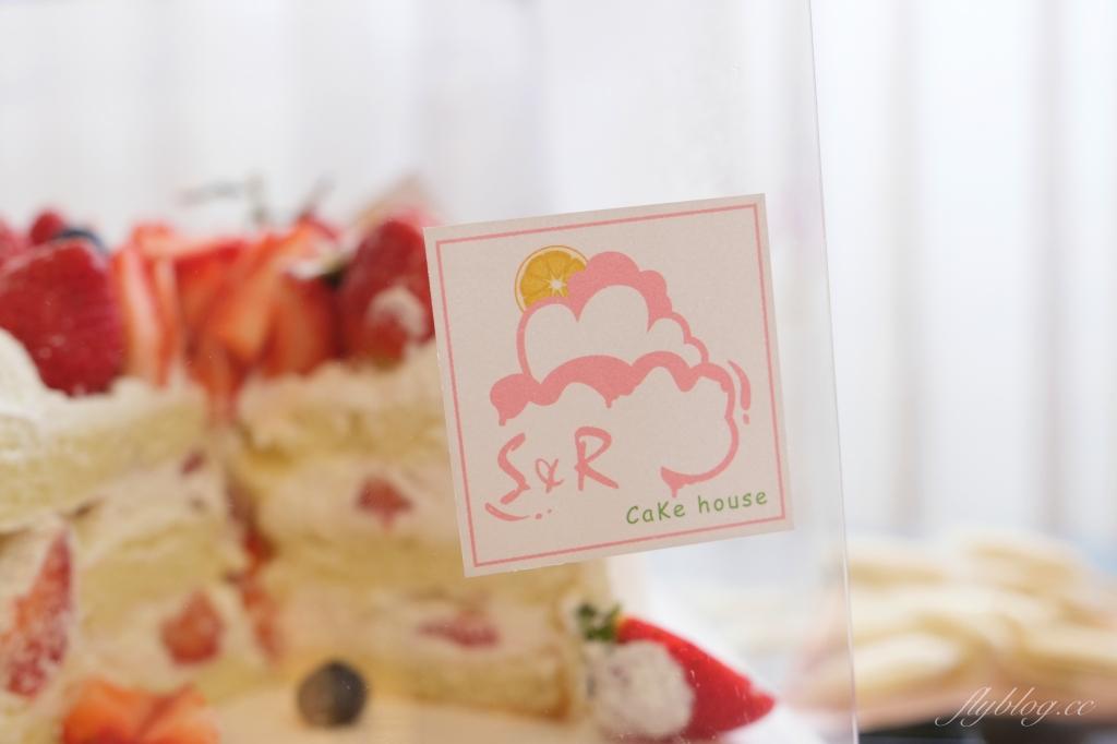 【台中潭子】太陽雨甜點工作室  S&R Cake house:季節限定草莓蛋糕,生日快樂!!🎂 @飛天璇的口袋