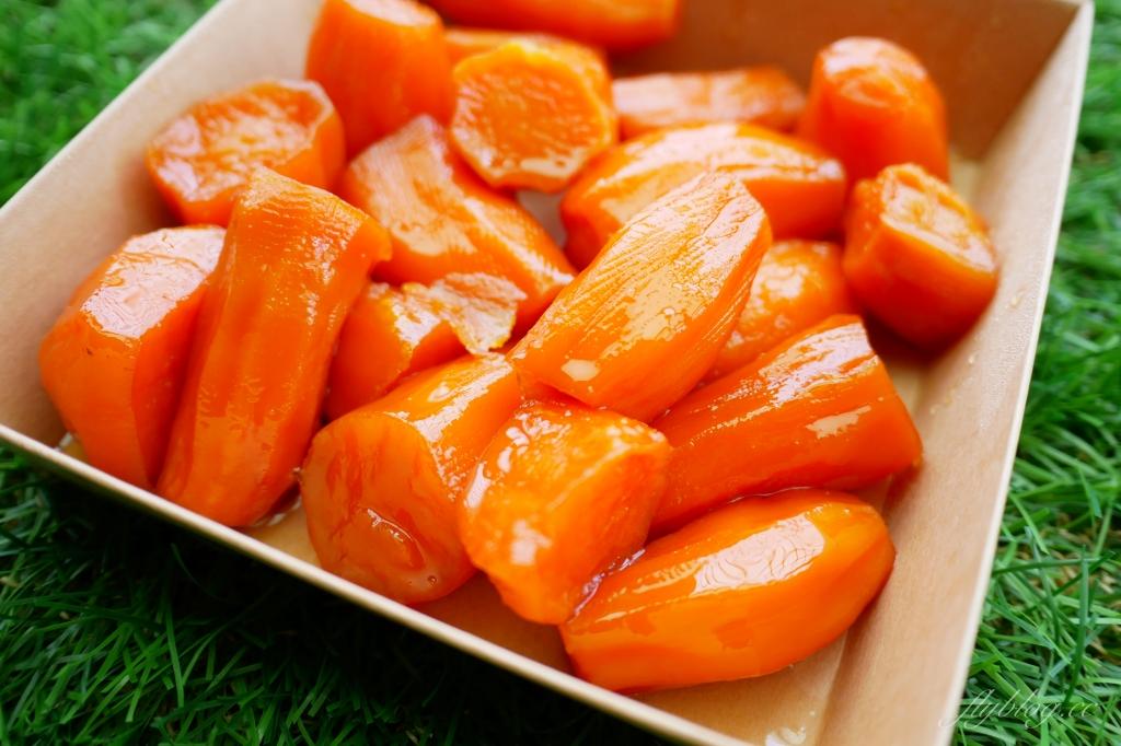 蜜藏地瓜:台中第二市場人氣美食,懷念的古早味小吃 @飛天璇的口袋