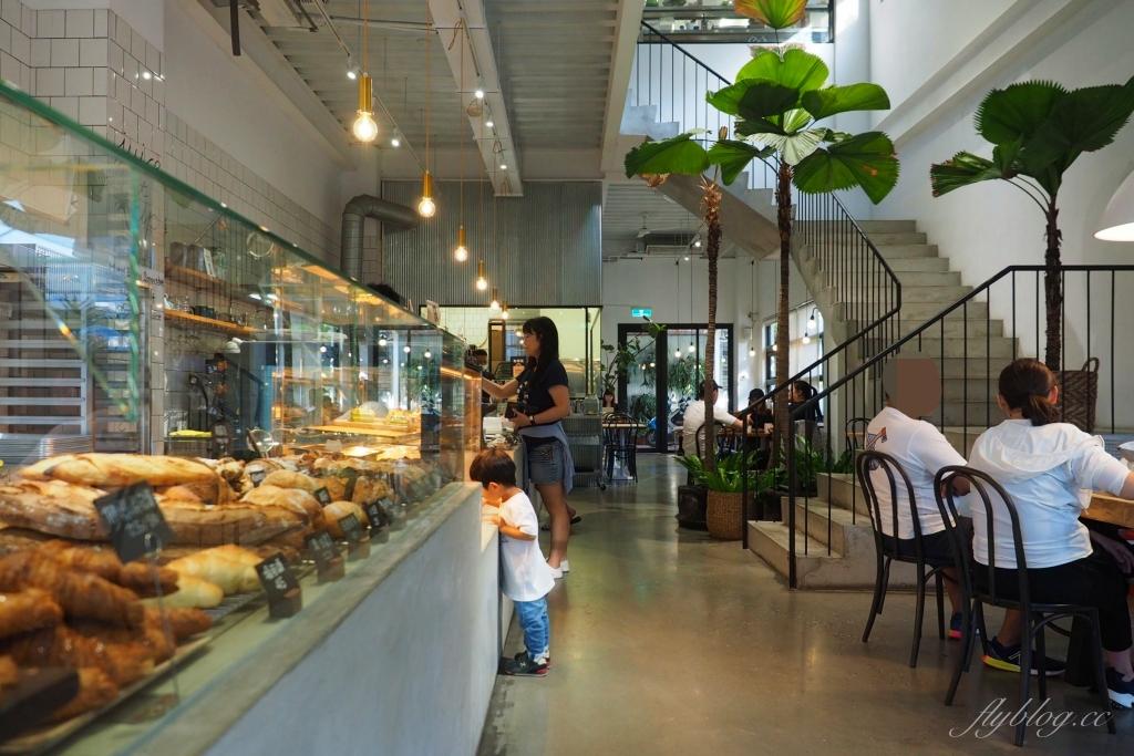 多爾法式烘焙:台中七期漂亮有質感的麵包店,早午餐和肉桂捲都推薦 @飛天璇的口袋