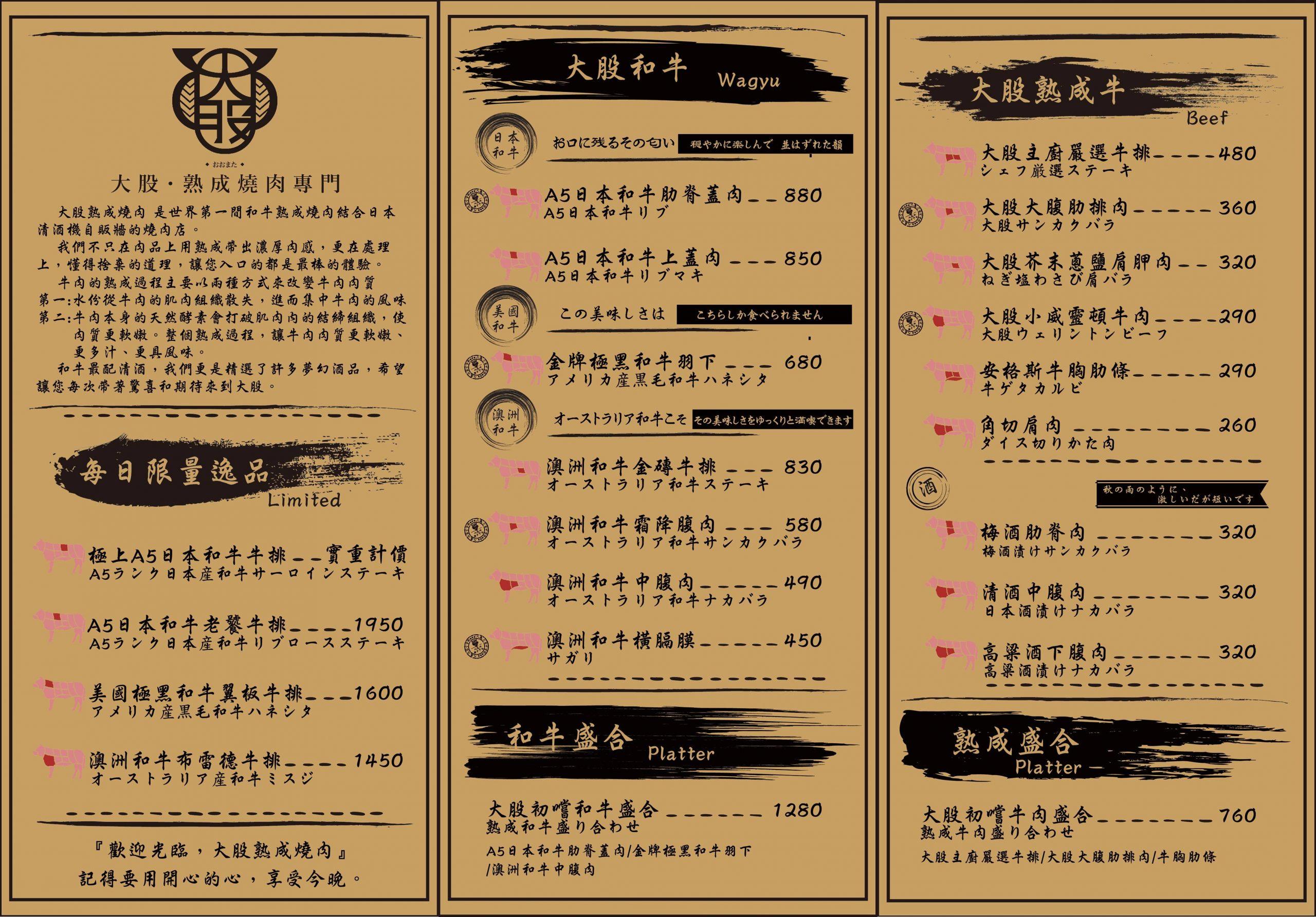 【台中西屯】大股熟成燒肉專門:全台首創清酒投幣機,專人桌邊代烤的奢華享受 @飛天璇的口袋