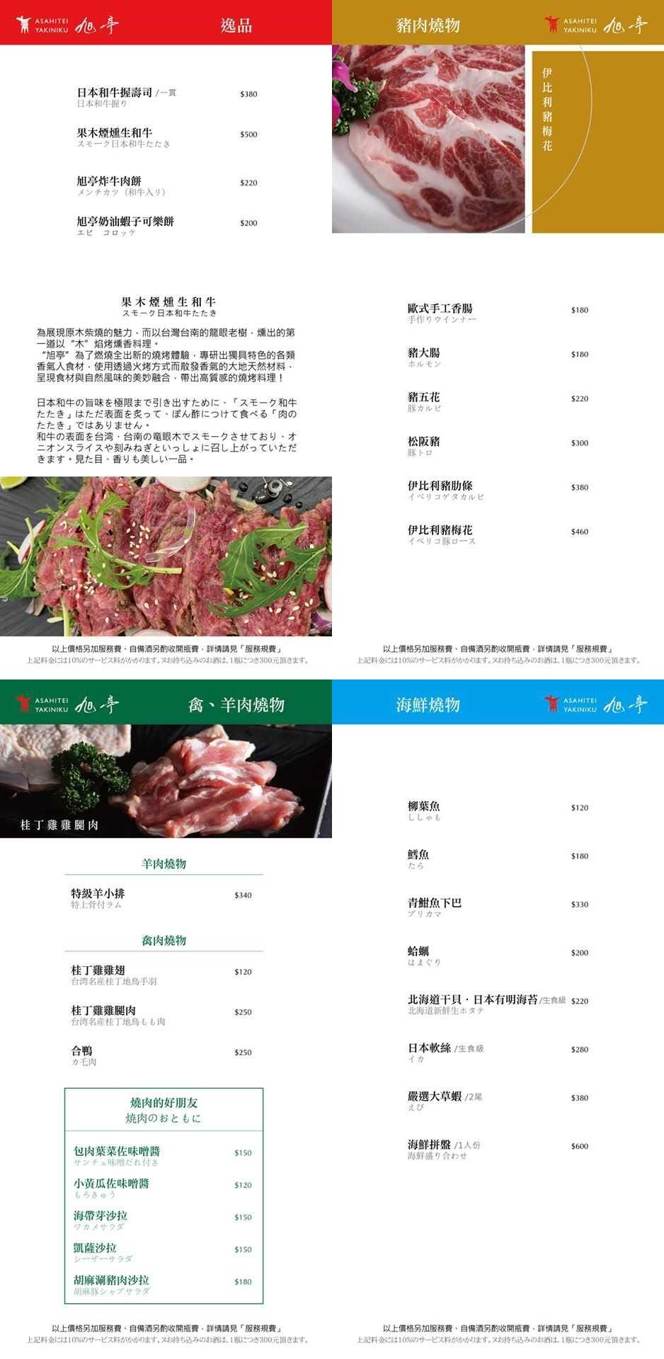 【台中西區】旭亭燒肉:隱身精明商圈巷弄裡的燒肉店,品嚐日本職人的燒肉美學 @飛天璇的口袋