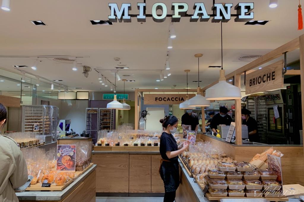 Miopane:百貨公司神級的粘粘胡桃肉桂捲x月銷萬顆的爆餡貝果 @飛天璇的口袋