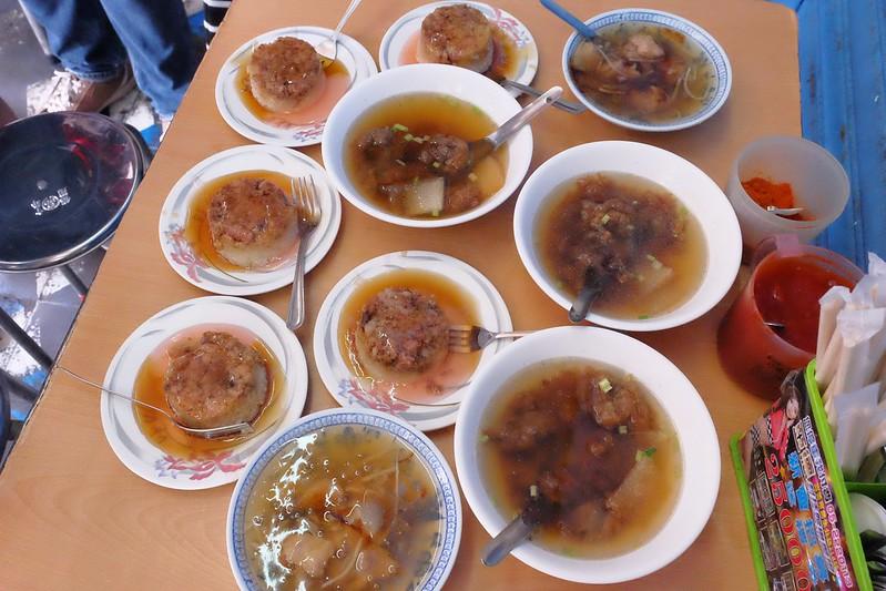 西市老店筒仔米糕:隱身嘉義巷弄裡的市井小店,肉羹湯簡單清甜好吃 @飛天璇的口袋