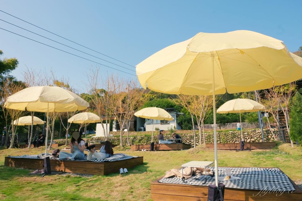 日日木木:在橘子樹林裡露營野餐,還有可愛帳蓬和大片草地 @飛天璇的口袋