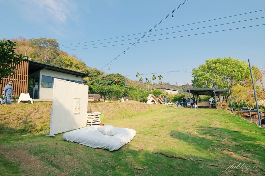 【台中東勢】 日日木木:在橘子樹林裡露營野餐,還有可愛帳蓬和大片草地 @飛天璇的口袋