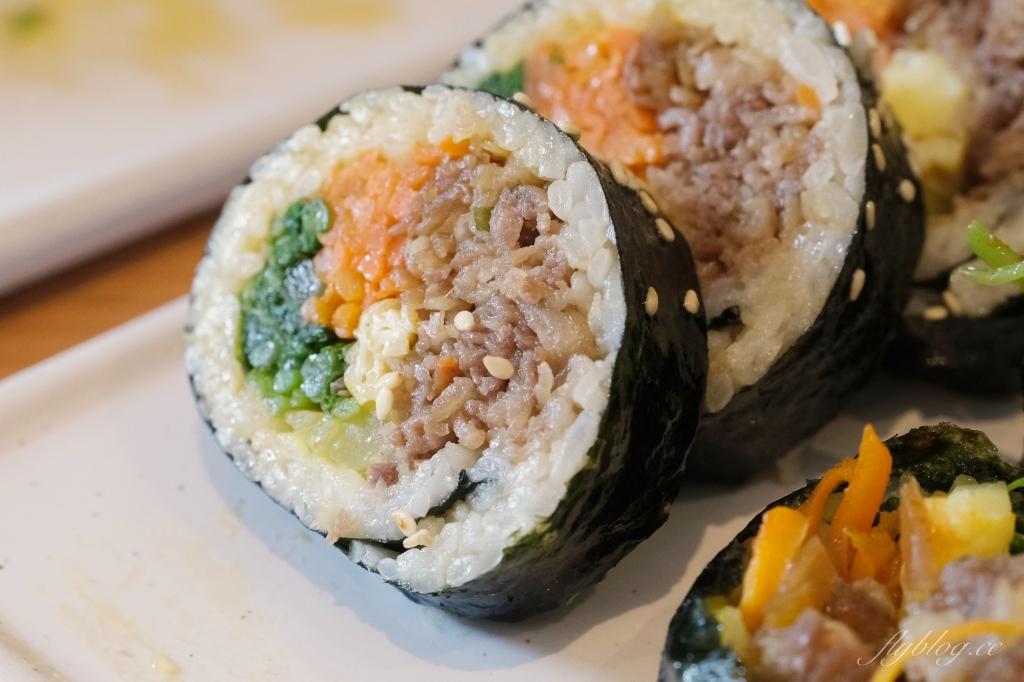 【台中北區】 K bab 大叔的飯卷:中友百貨後方韓式料理,學生族小資族的最愛 @飛天璇的口袋