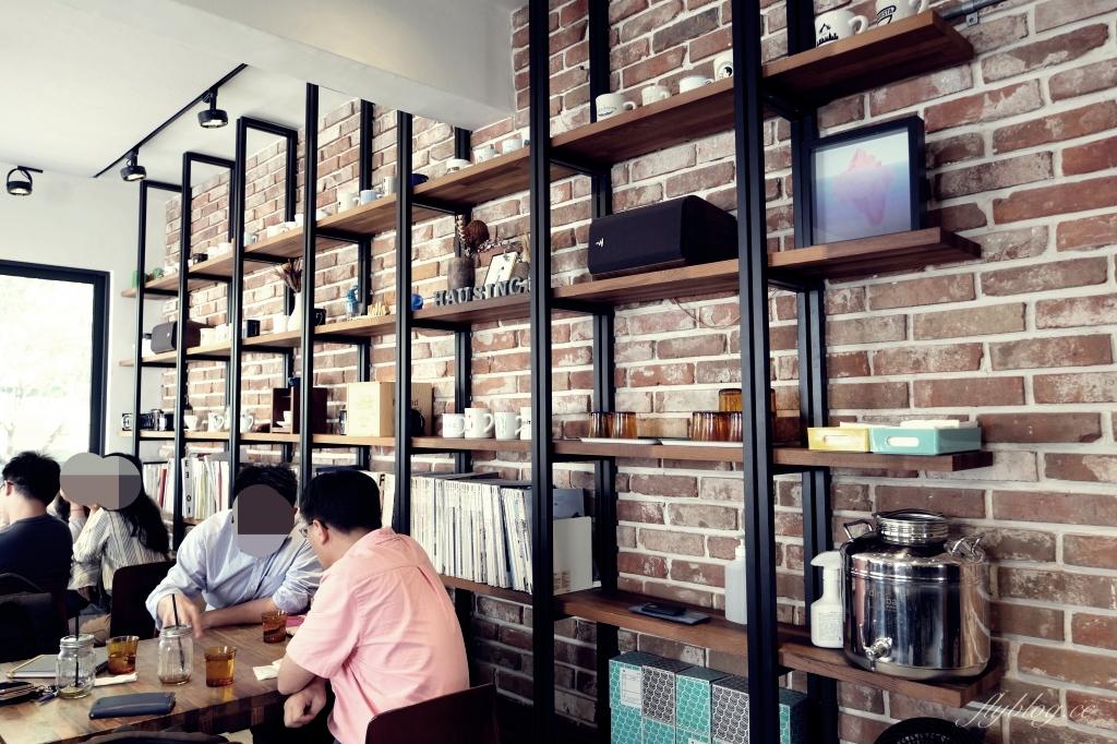 【台中北區】 Hausinc Cafe:台灣25間最棒的咖啡館之一,工業風設計提供早午餐和甜點 @飛天璇的口袋