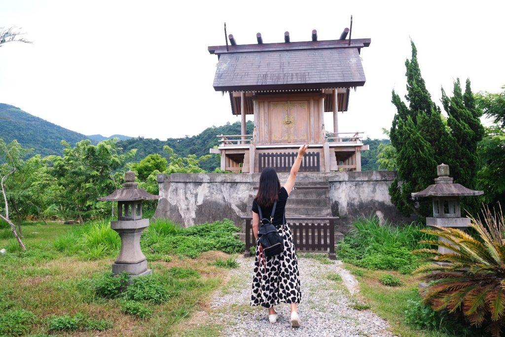 鹿野神社:位於鹿野龍田村的日本神社,環境舒適清幽還有鳥居和洗手社 @飛天璇的口袋