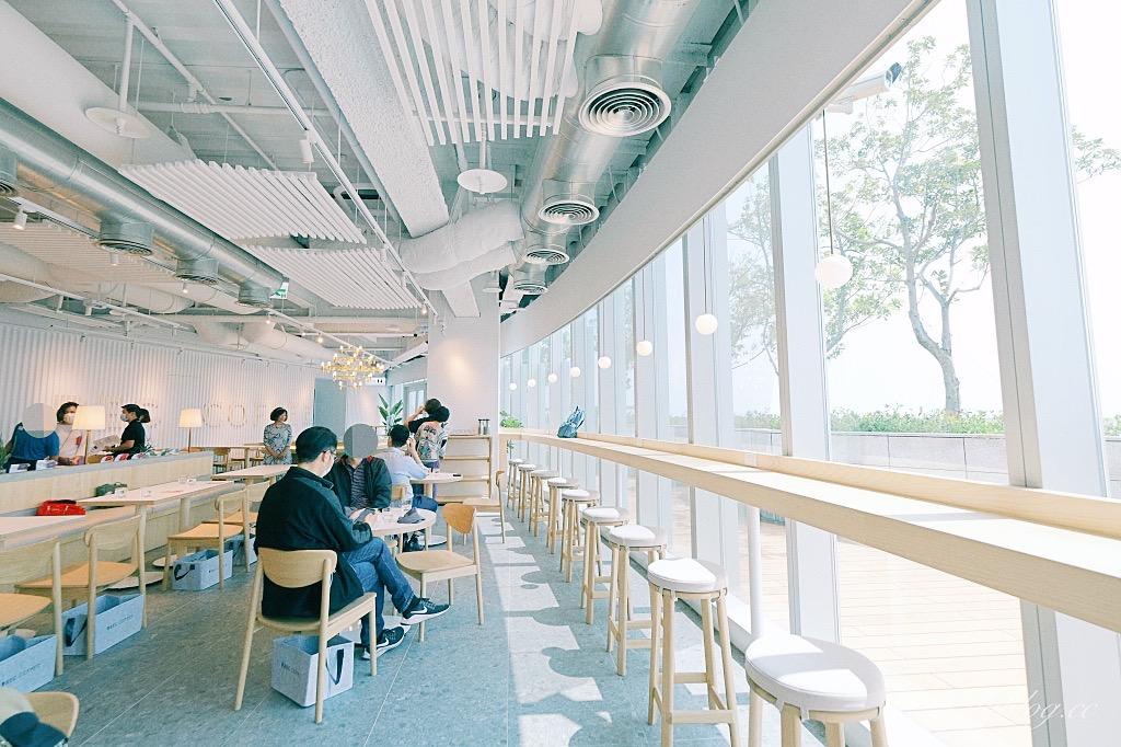 台中REC COFFEE Taiwan:日本福岡冠軍咖啡館海外一號店,26樓超唯美清水模落地窗建築 @飛天璇的口袋