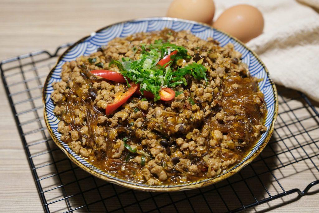 螞蟻上樹:食材準備簡單,5分鐘就可以上桌 @飛天璇的口袋