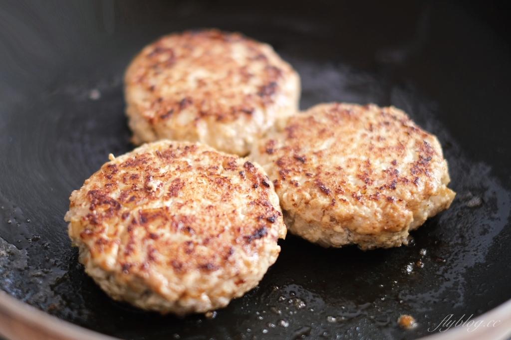 豆腐漢堡排:讓小孩子秒殺的漢堡排,高蛋白又營養的減脂盛品 @飛天璇的口袋