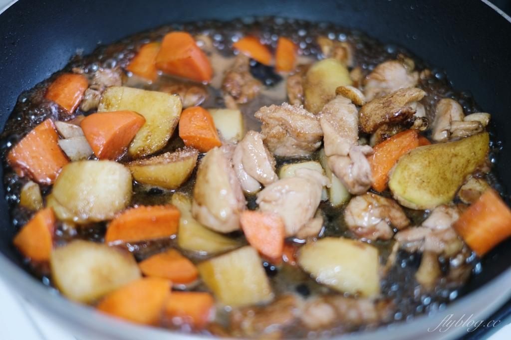 馬鈴薯燒雞:超下飯!20分鐘就可以上桌,當成便當菜也適合 @飛天璇的口袋