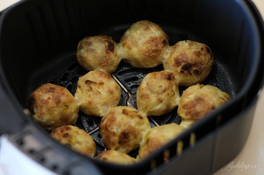 【食譜分享】豆腐豬肉丸:氣炸也可以輕鬆出菜,養生又減脂的美味料理 @飛天璇的口袋