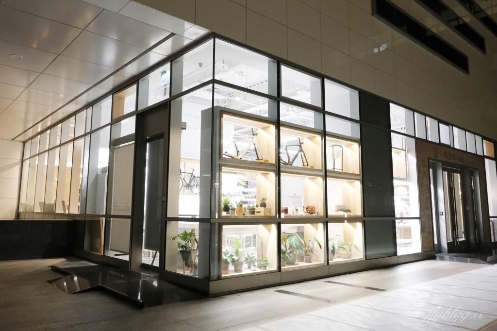 【台中西屯】 一物立方Cubix Cafe:七期超美純白玻璃屋建築,隱身商辦大樓的美食餐廳 @飛天璇的口袋