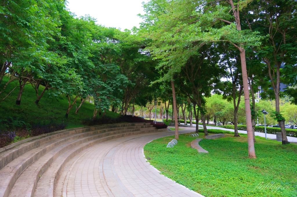 文心森林公園:戶外圓滿劇場、12感官遊戲設施、溜冰場、寵物專區 @飛天璇的口袋
