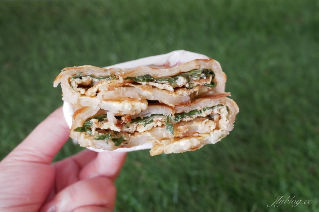 邱陳記酥皮蛋餅:永興街人氣蛋餅店,現擀手工蛋餅就是最美味 @飛天璇的口袋