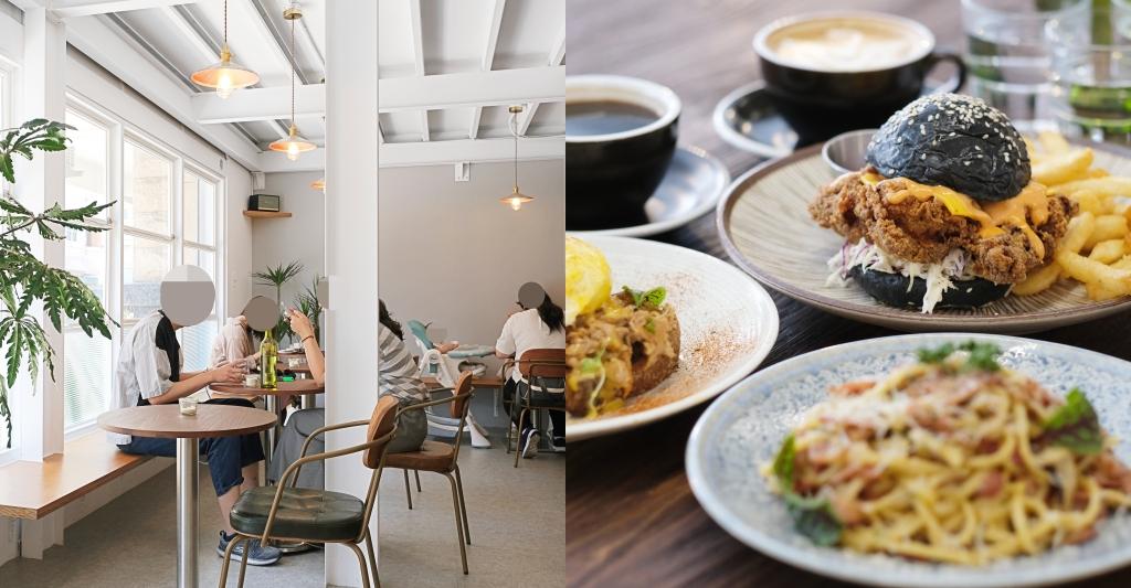 Mirror Room:台中純白落地窗建築,澳式早午餐咖啡館推薦 @飛天璇的口袋