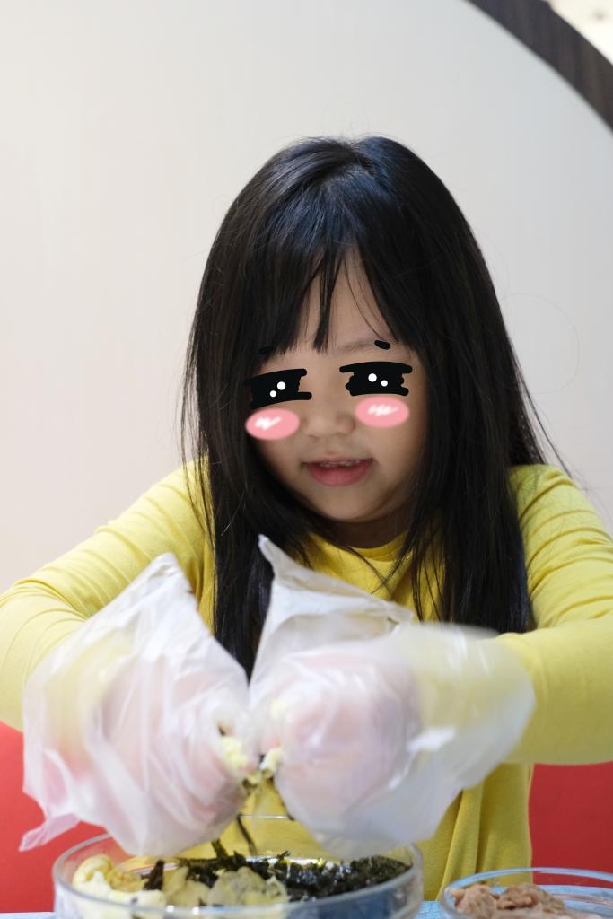 韓式拳頭飯糰:可愛又營養的韓式拳頭飯糰,可以親子同樂的簡單料理 @飛天璇的口袋