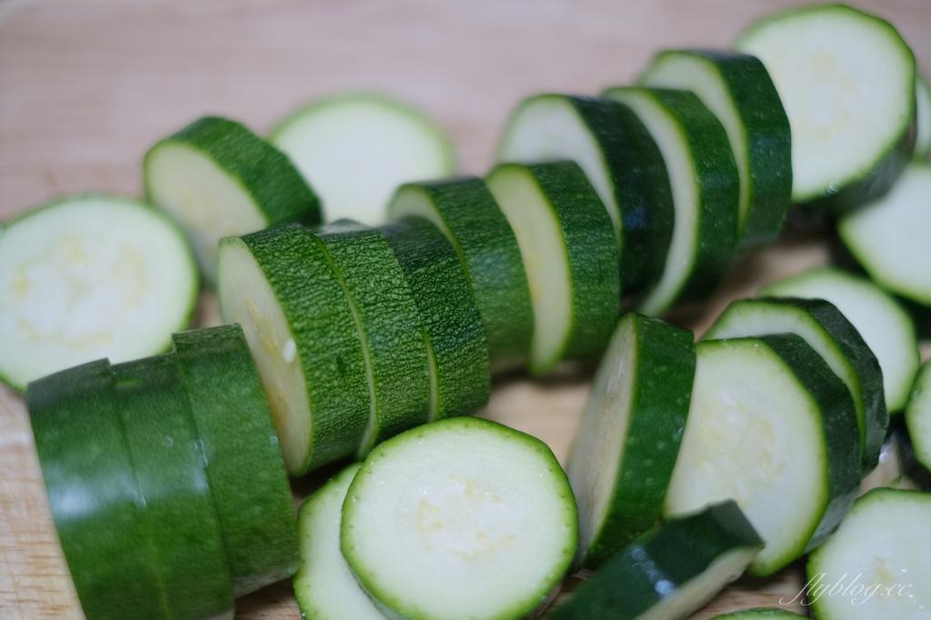 香煎櫛瓜:零失敗的家庭料理,櫛瓜變得又香又脆 @飛天璇的口袋