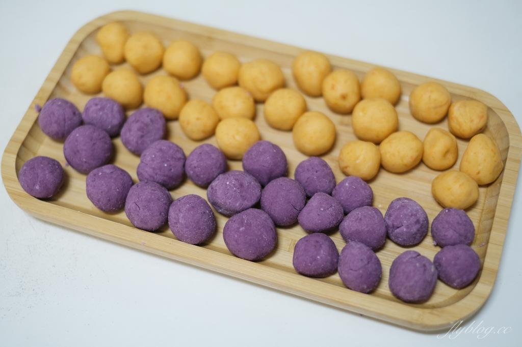 【食譜分享】地瓜球的作法:外酥內Q的地瓜球怎麼做?食譜簡單在家就可以完成 @飛天璇的口袋